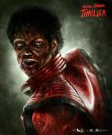 Michael Jackson's Thriller by flavioluccisano