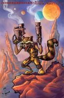 Rocket Raccoon by JeremiahLambertArt