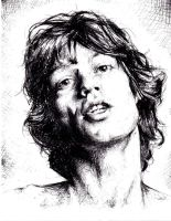 Mick Jagger by ElegantRage