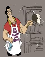 No One Cleans Like Gaston by CoffeeVulture