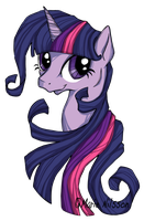 Twilight Sparkle by Kattvalk