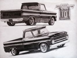 Chevrolet C10 (1969) by killemall94