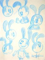 Oswald Sketches by Gilzean