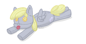 Derpy Hooves Plush by JadeSketch