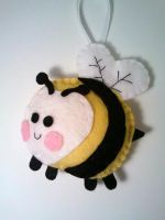 Be My Honey Bee Ornament by msmegas