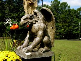 gargoyle statue 5 by FairieGoodMother