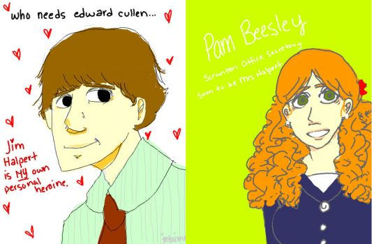 jim and pam equals jam by LovelyEyes15