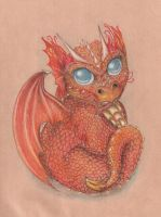 baby dragon by mevsk
