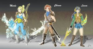 Main characters of CT by crazyL0cke