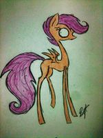 Scootaloo by Ice-Dreams