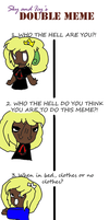 double meme with BBFF by kitkatbrookie88