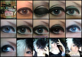 + Visual-kei make-up + by DeeDeeKITSUNE