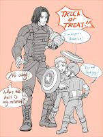 Halloween special #The mission of winter soldier by fonin