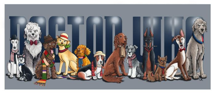 Dogtor Who by tee-kyrin