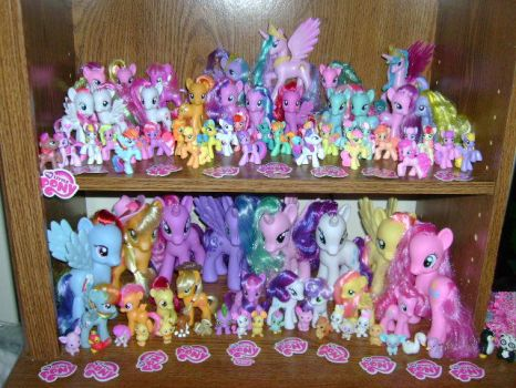 My Little Pony Collection by ShyraWolf