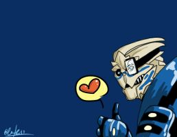Garrus approves by AllTerrain1017