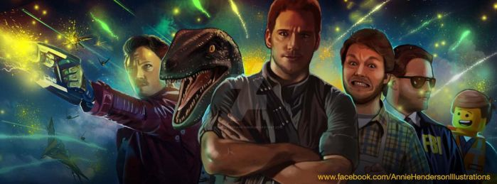 Chris Pratt by puppeteer-for-kings
