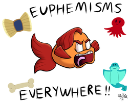 Lucah Fish and the Excessive Euphemisms by Katonator