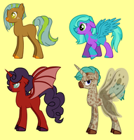MLP:FIM Adoptables -CLOSED- by InexpensiveAdopts