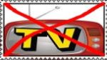 I Hate TV Stamp by Normanjokerwise