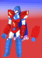 Andrea Armored Mode version 2 by deadpoolthesecond