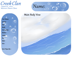 CreekClan Template by Zurazi