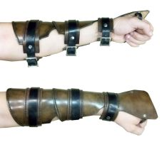 Rogue Bracer by swanboy