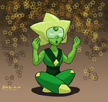 Star Hair Peridot by ScottaHemi