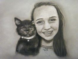 Best Friends commission    two pictures combined by ADRIANSportraits