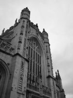 Bath Cathedral 03 by DanB-Graphic-and-Web