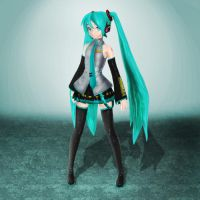 Dreamy Theater Hatsune Miku by ArmachamCorp