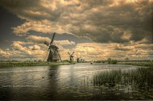 Kinderdijk by GeorgeGoodnight