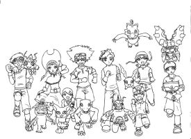 Digimon Adventure by Kyo3
