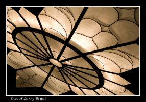 Ceiling Light at the Fox by inessentialstuff
