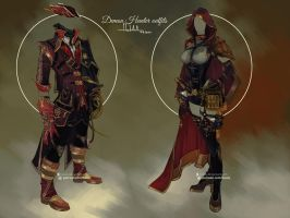 Commission: Demon Hunters by Hassly