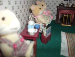 Hamsters At Home-2 by Floppy-Doggie