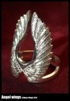 Angel wings ring by Dans-Magic