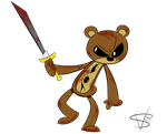 Cutter The Teddy Bear by mexican64