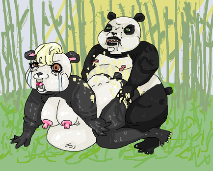 panda POPulation explosion by Pudgley