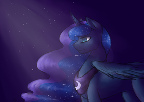 Princess Of The Night by JustALittleShadow
