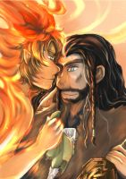 Bagginshield:: You fought well, My King by caylren