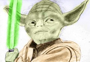 Yoda Coloured by Deluxe0111
