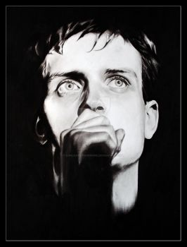 Ian Curtis by OurLady-OfSorrows