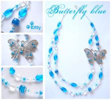 _Butterfly Blue by kitica