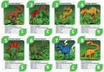 Dinosaur Cards - North America by mourri