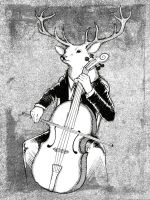 The Cellist by Rimfrost