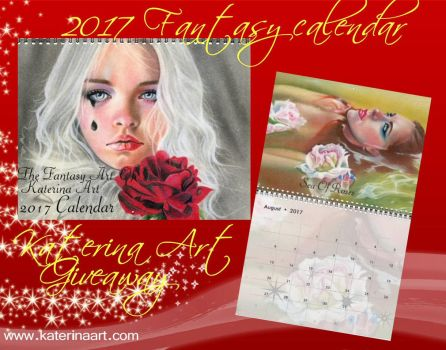 Giveaway Calendar 2017!  Gift of Love by Katerina-Art
