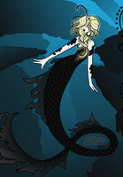 Scorpio As A Mermaid by faeryhond