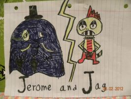 Jerome and Jag by Bowser14456