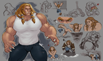 A whole lotta Sabertooth. by sharlin